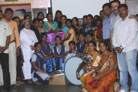 # Project - Handing Over Ceremony Of Band Instruments & Band Uniform #