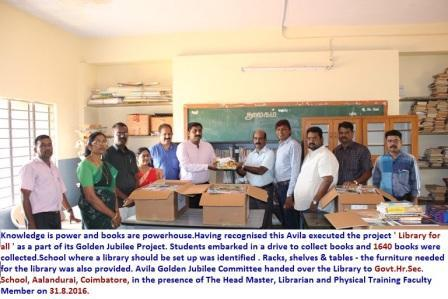 # Project - LIBRARY FOR ALL #