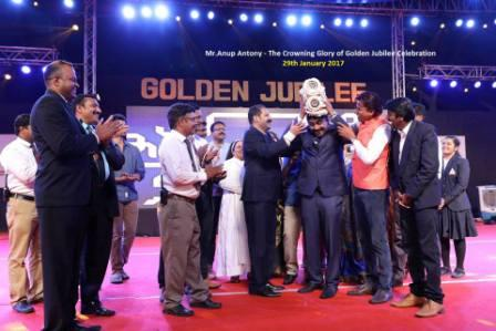 THE CROWNING GLORY OF GOLDEN JUBILEE CELEBRATION