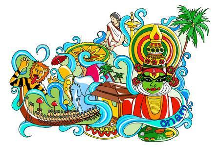 ONAM GREETINGS  ( 25.8.2018 )