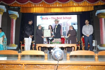 THE   BEST   SCHOOL   AWARD  -  2016