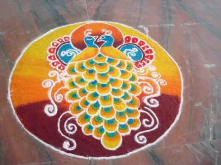 Rangoli   Competition   :   2015