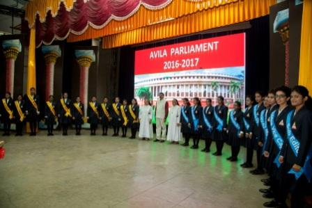 PARLIAMENT   INAUGURATION  -  2016 :