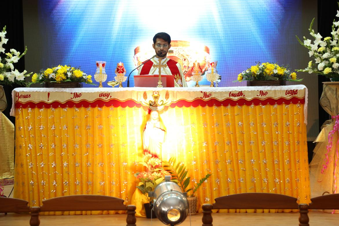 OPENING  MASS  AND  FEAST  OF  SACRED  HEART