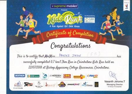 COIMBATORE KIDS RUN