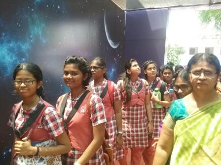 A VISIT TO SCIENCE  EXHIBITION :  ISRO