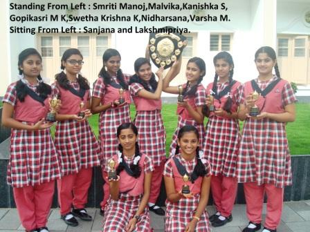 25th Inter –school Cultural Competitions: 2015